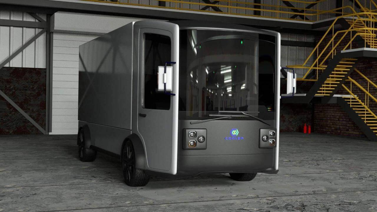 CoolOn: украинский электрогрузовик от компании Murmuration Technology