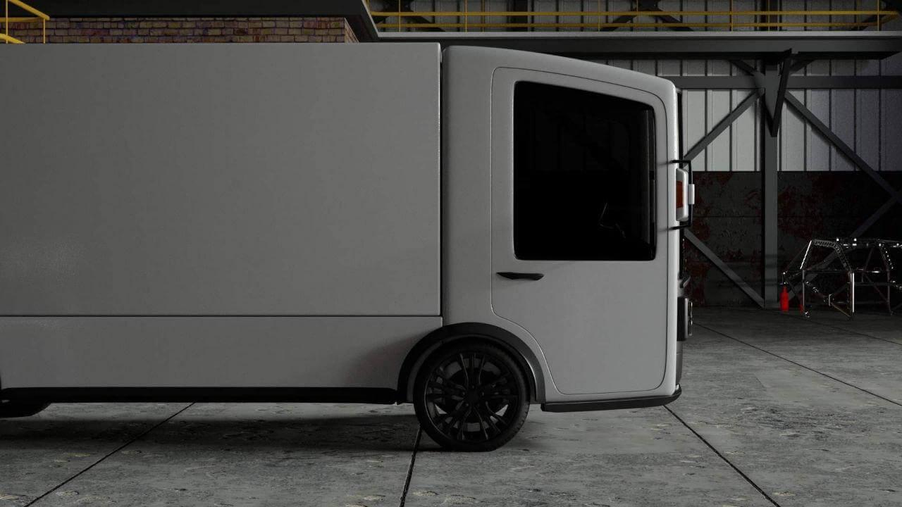 Грузовик CoolOn: потенциально первый серийный украинский электромобиль