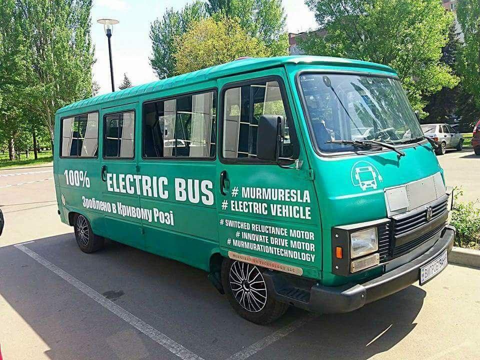 Электрический автобус «Мурмуресла»