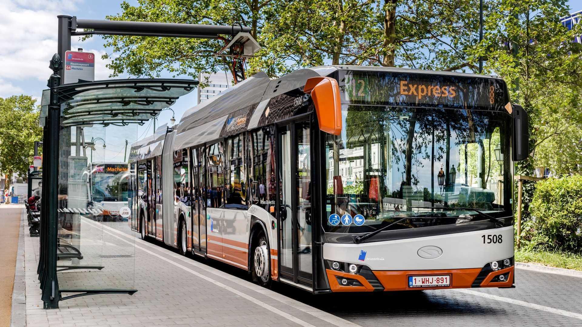 Сочленненный электробус Solaris Urbino 18 electric
