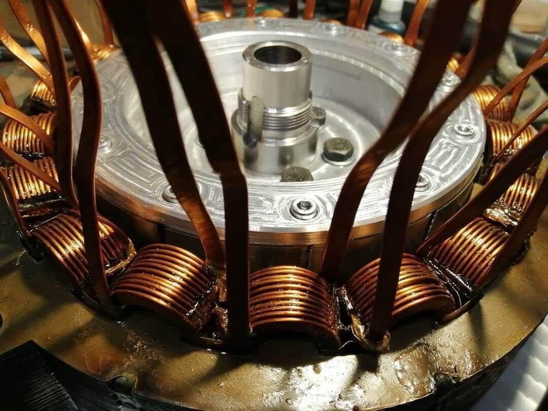 Вентильный реактивный двигатель компании Murmuration Technology