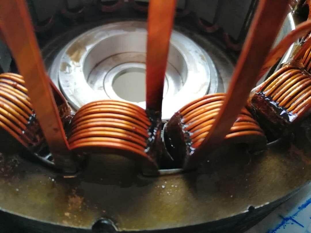 Элементы вентильного реактивного двигателя