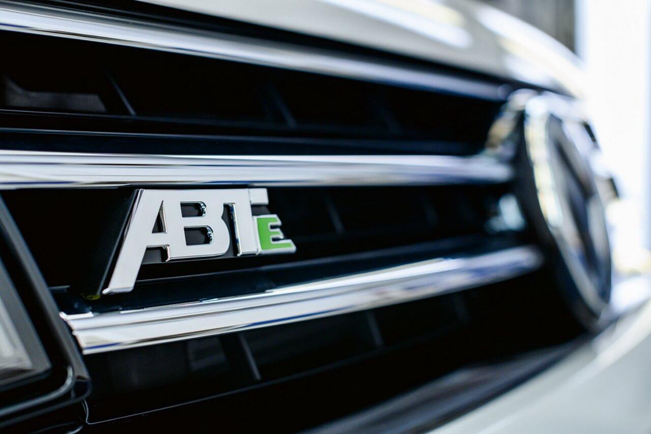 Электрический фургон VW разработанный в сотрудничестве с ABT e-Line