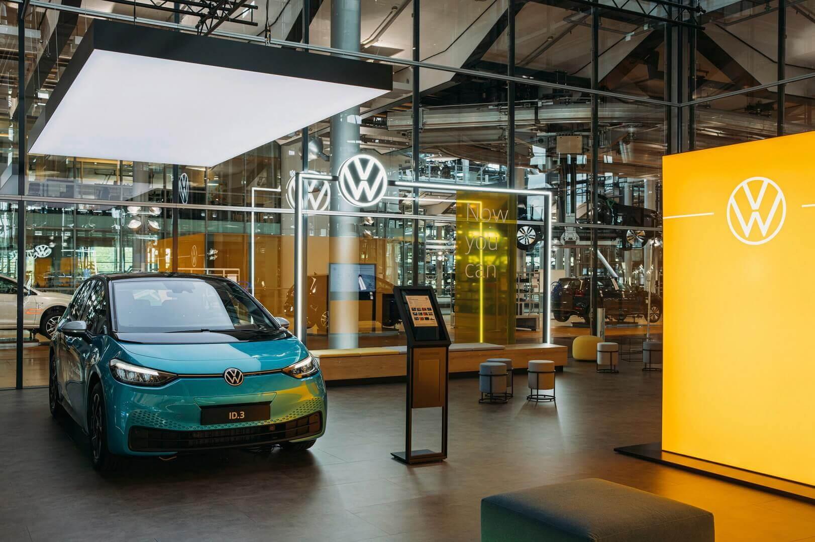 Volkswagen открывает ID. Store перед запуском ID.3 в Германии