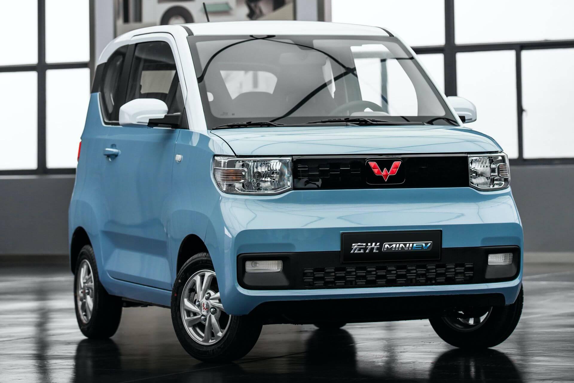 Совместное предприятие GM-SAIC-Wuling представили 4-местный мини-электромобиль – Hong Guang MINI EV