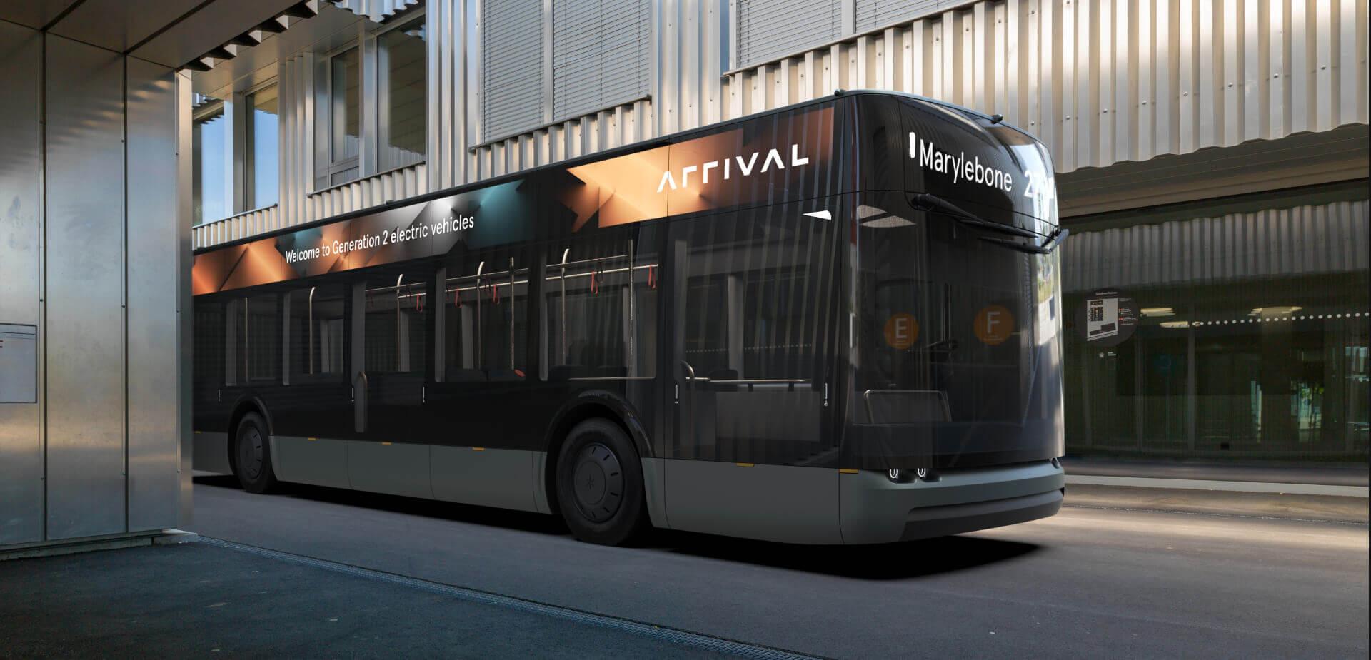 Arrival представила концепт электрического автобуса