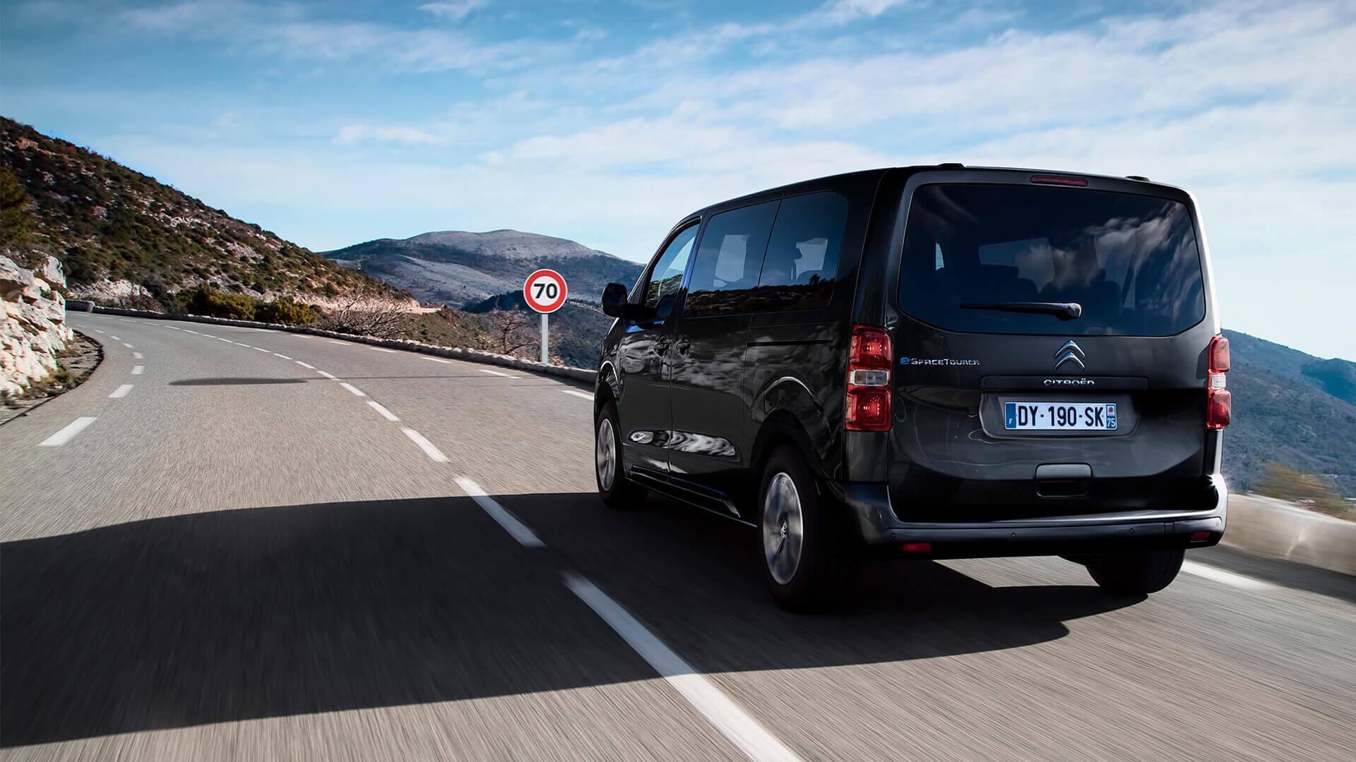 Электромобиль для бизнеса Citroën ë-SpaceTourer