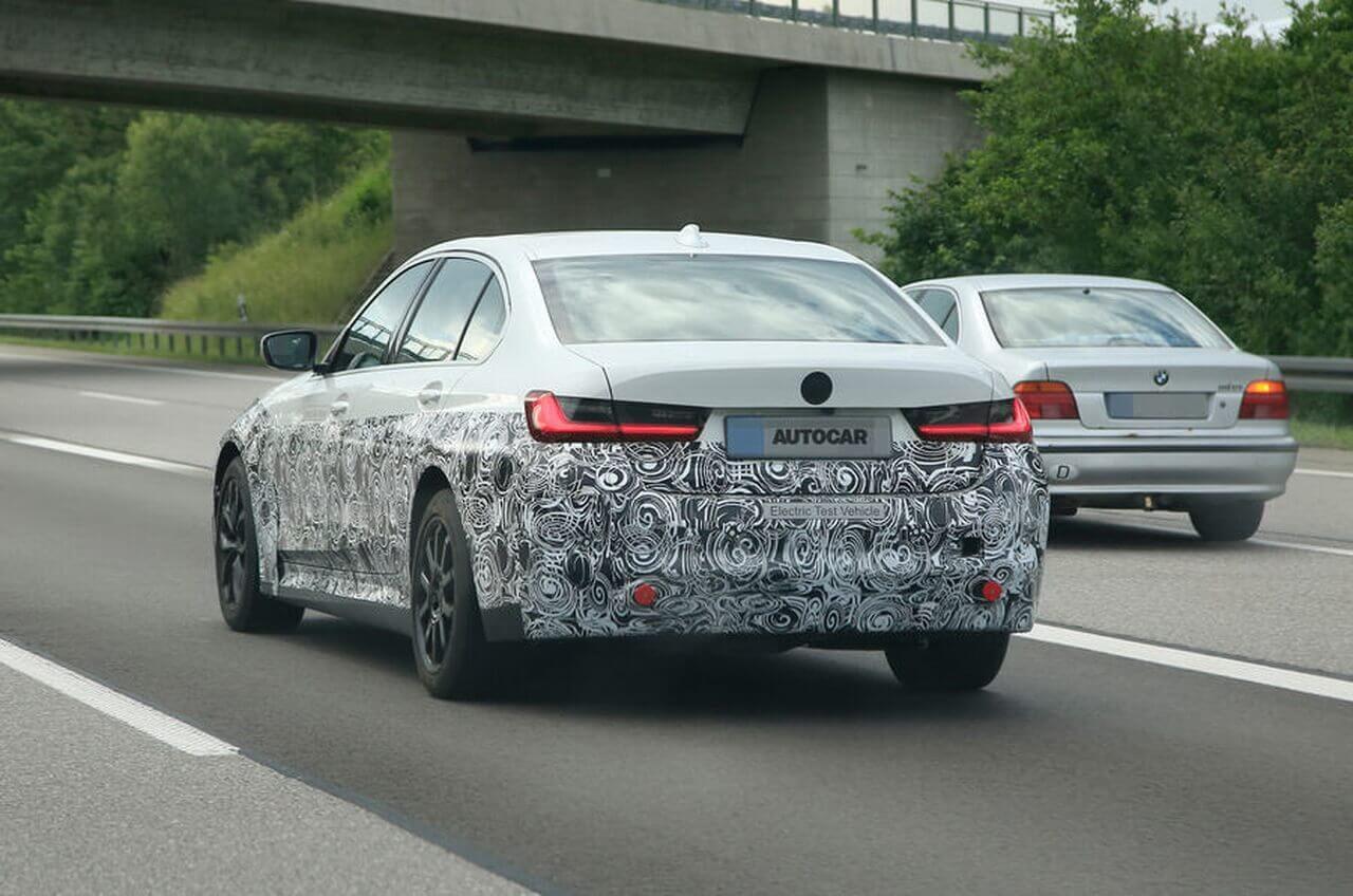 BMW тестирует электрический седан 3 Series для китайского рынка