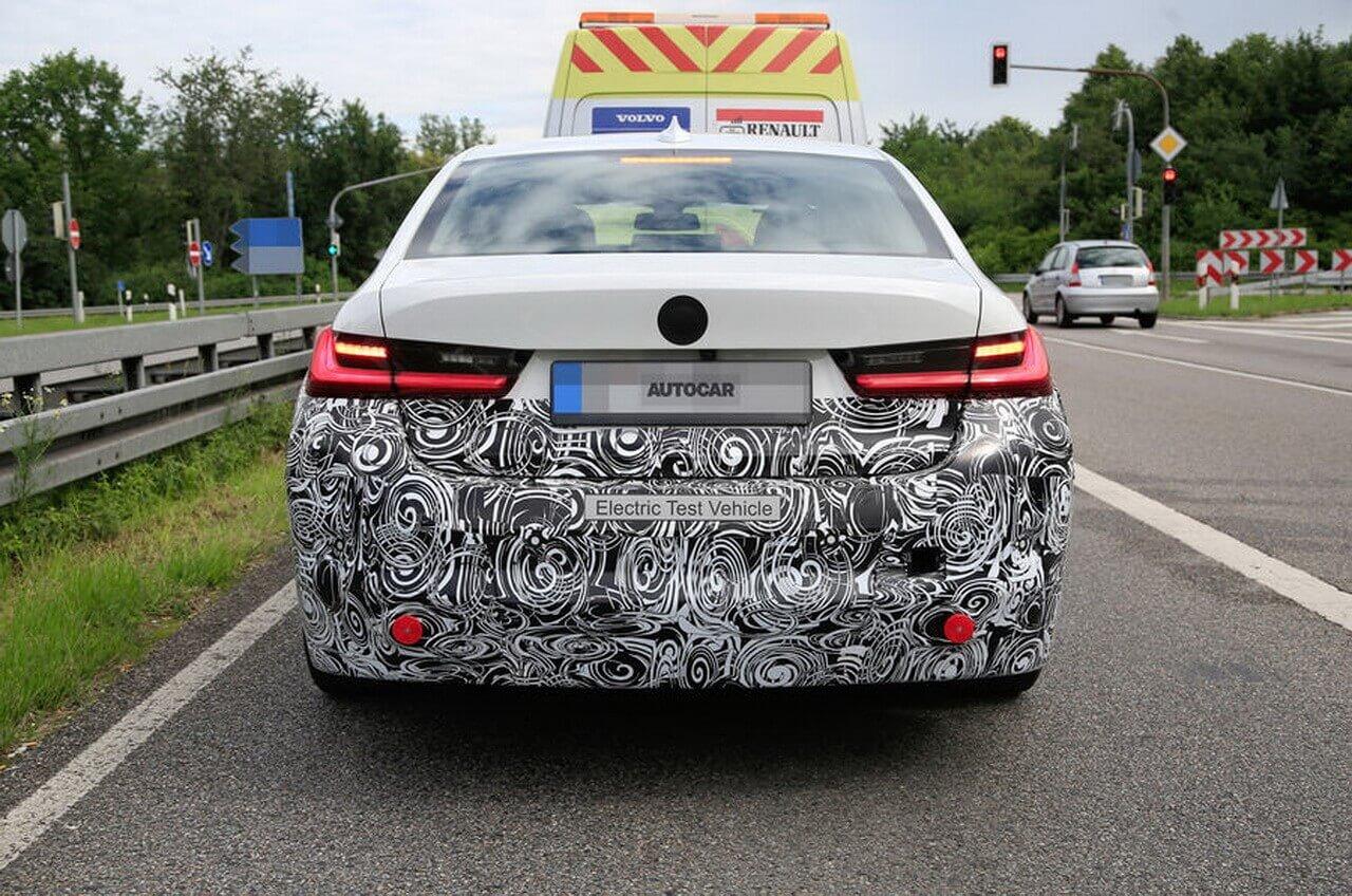 Прототип полностью электрического BMW 3-й серии