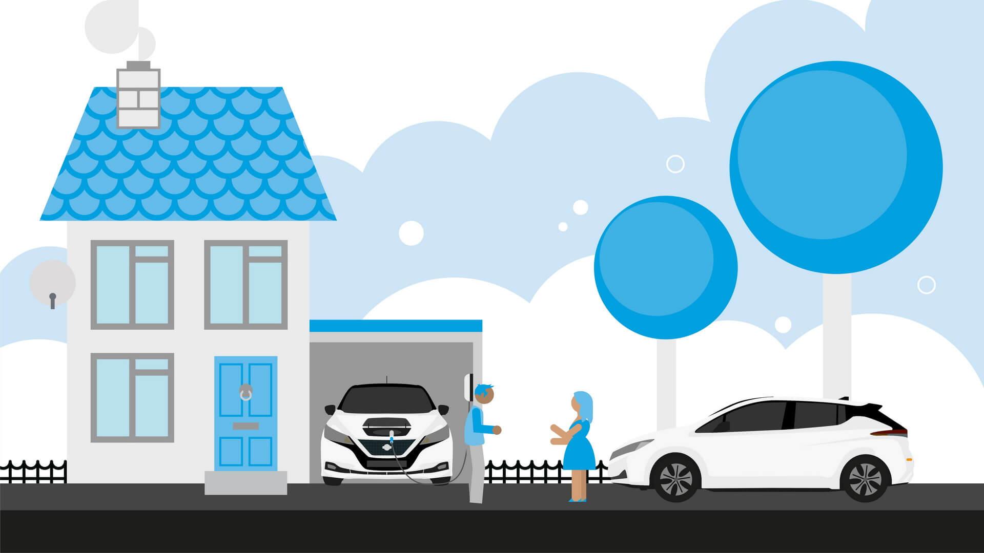Рассмотрите возможность совместного пользования зарядного устройства с вашими соседями