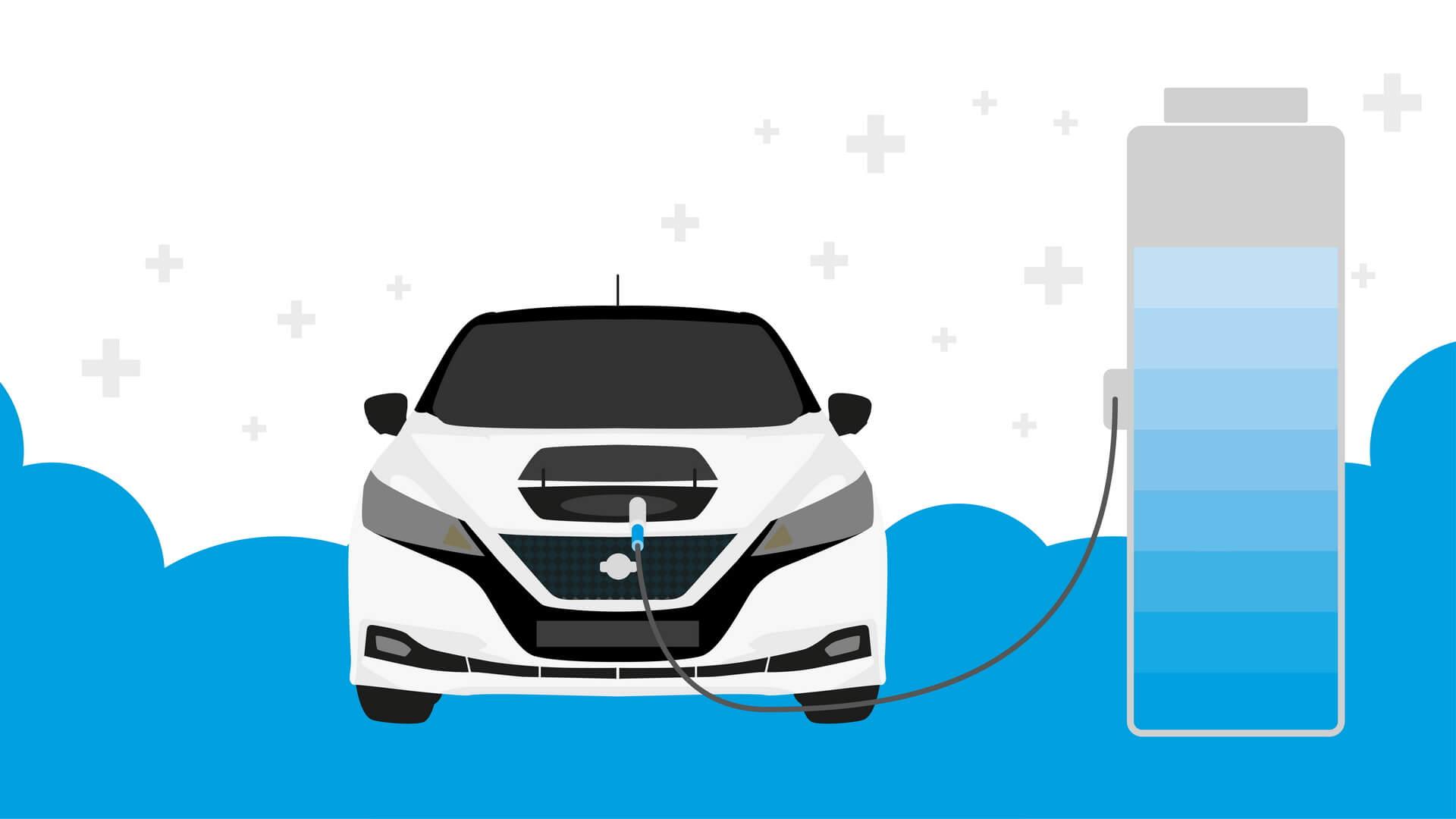 На заряжайте электромобиль до полной емкости батареи без необходимости