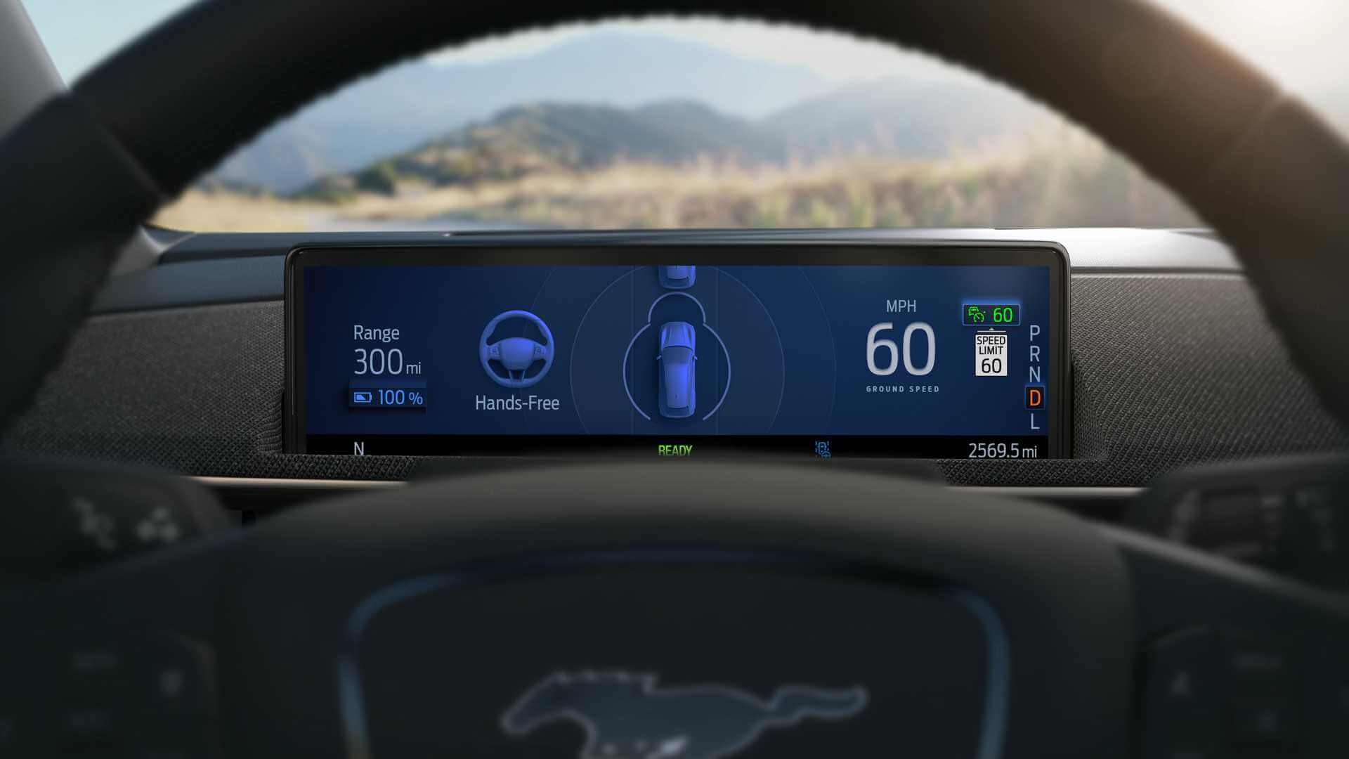 Ford предлагает режим ограниченного автопилота в Mustang Mach-E
