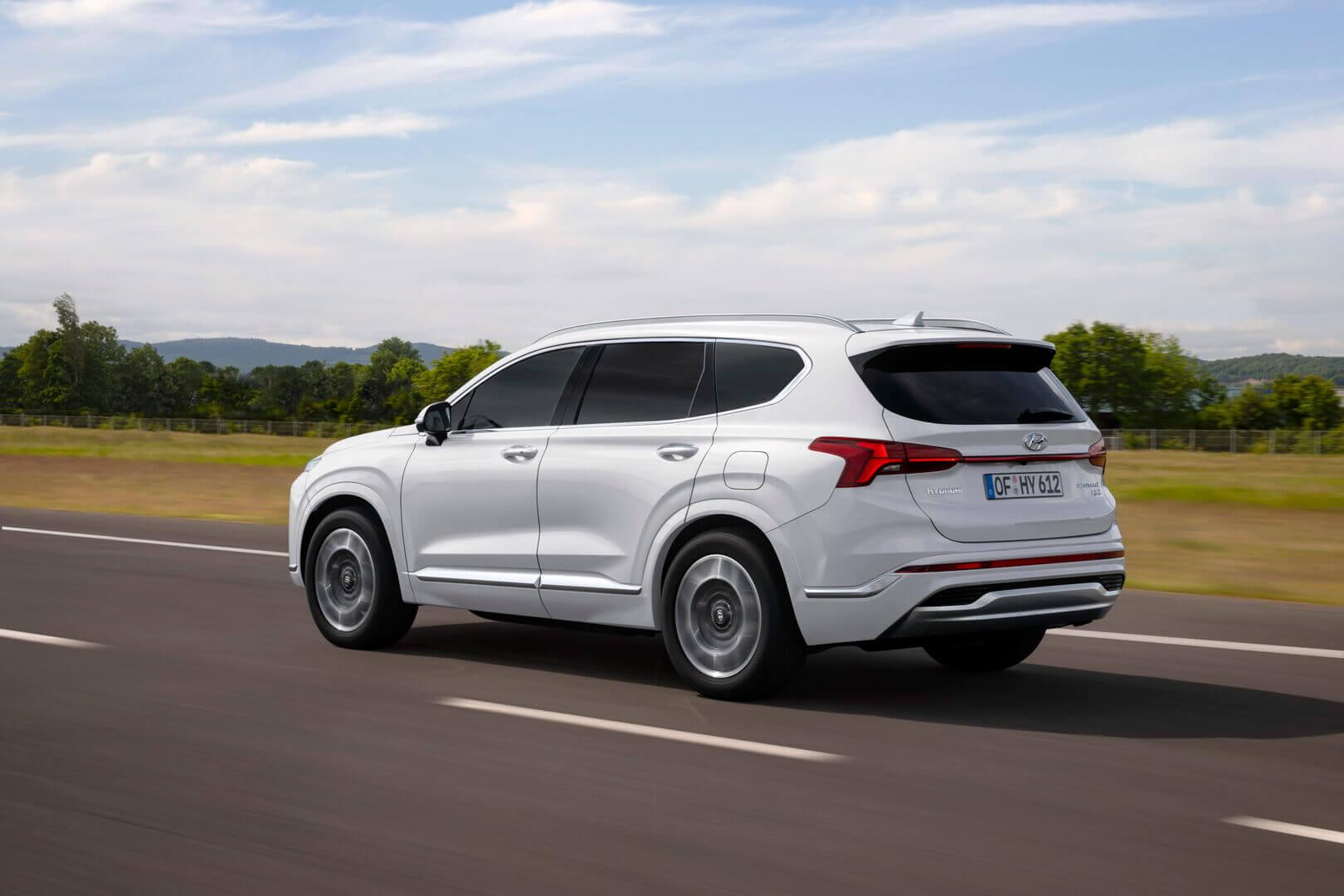 Обновленный кроссовер Hyundai Santa Fe 2020