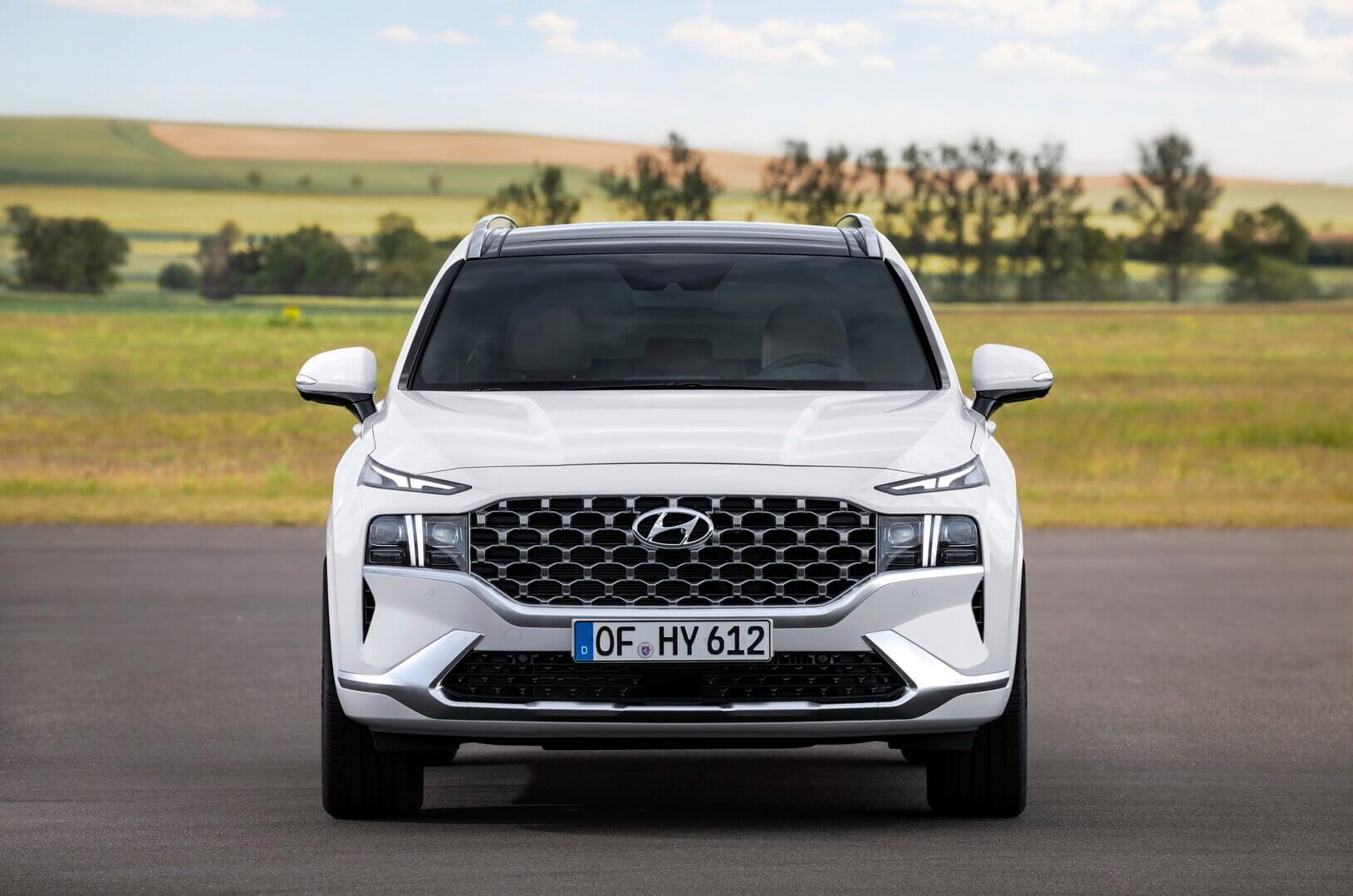 Новый дизайн экстерьера Hyundai Santa Fe