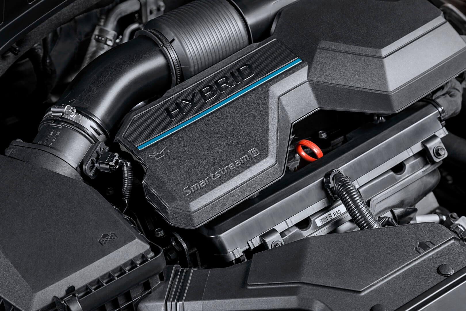 Гибридный привод Hyundai Santa Fe