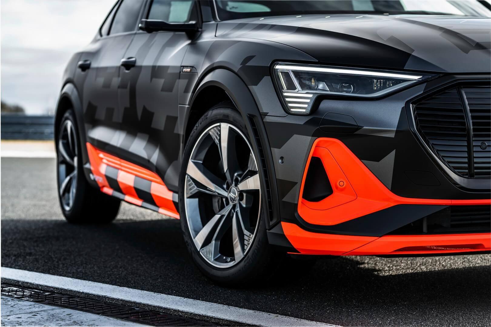 Аэродинамика Audi e-tron S