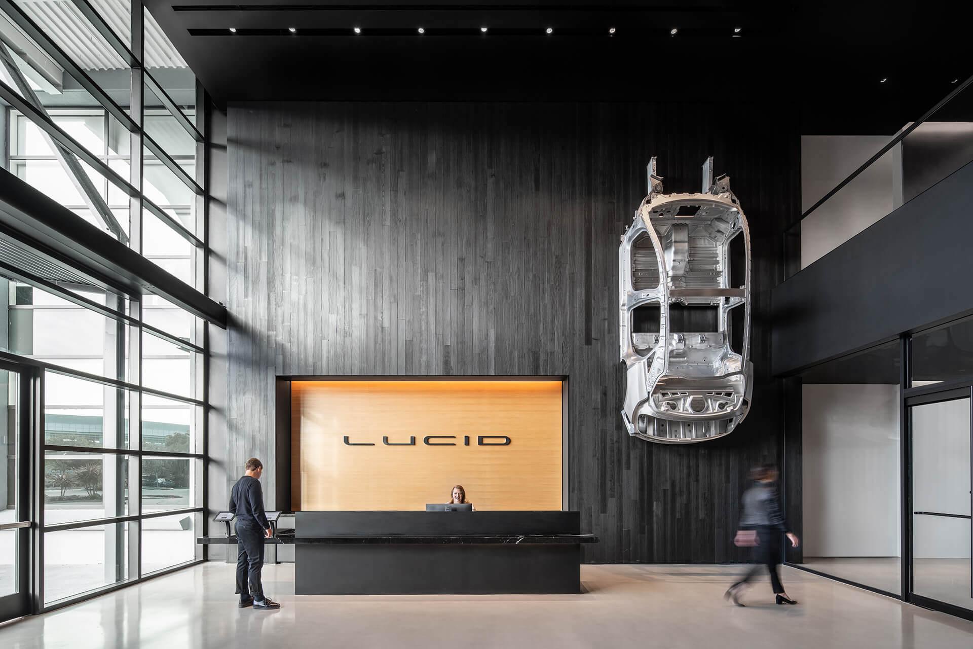 Штаб-квартира Lucid Motors в Силиконовой долине