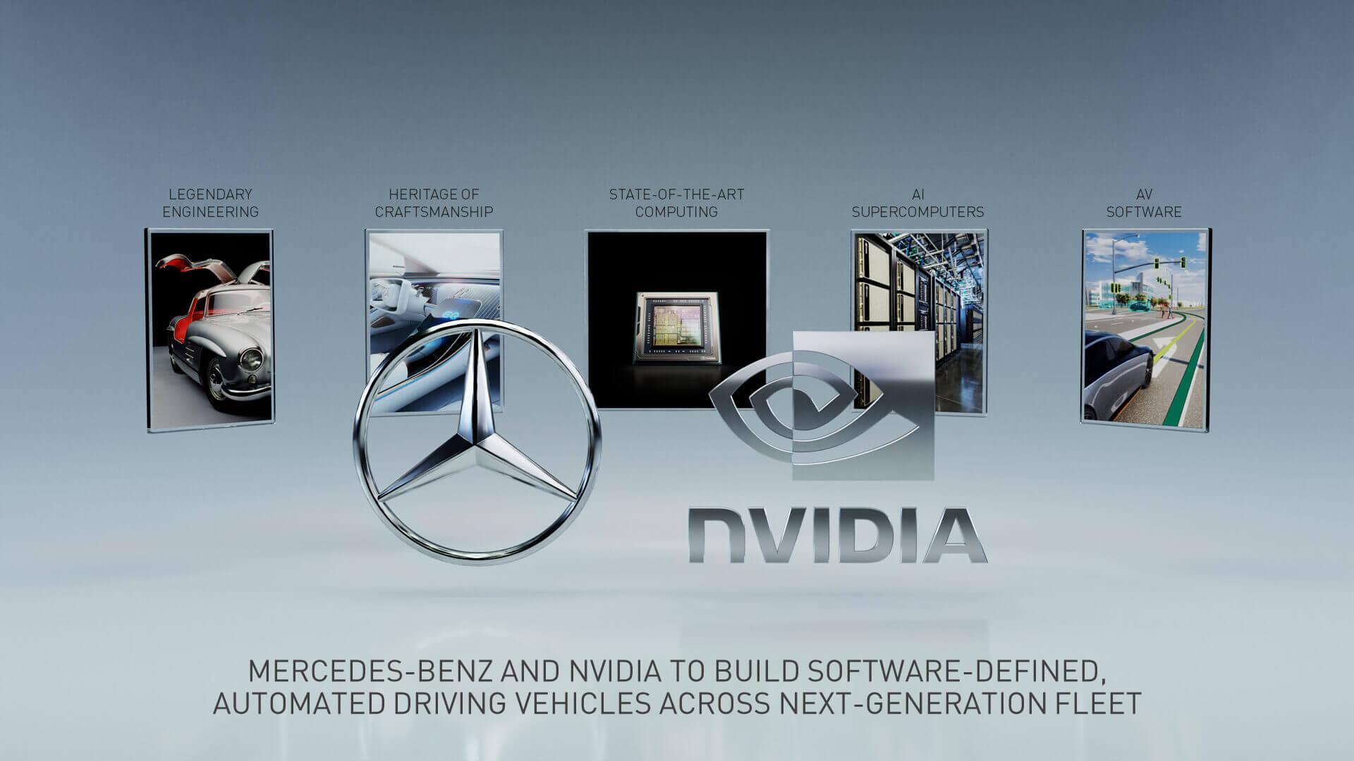 Mercedes-Benz и NVIDIA создадут собственный суперкомпьютер для автомобилей