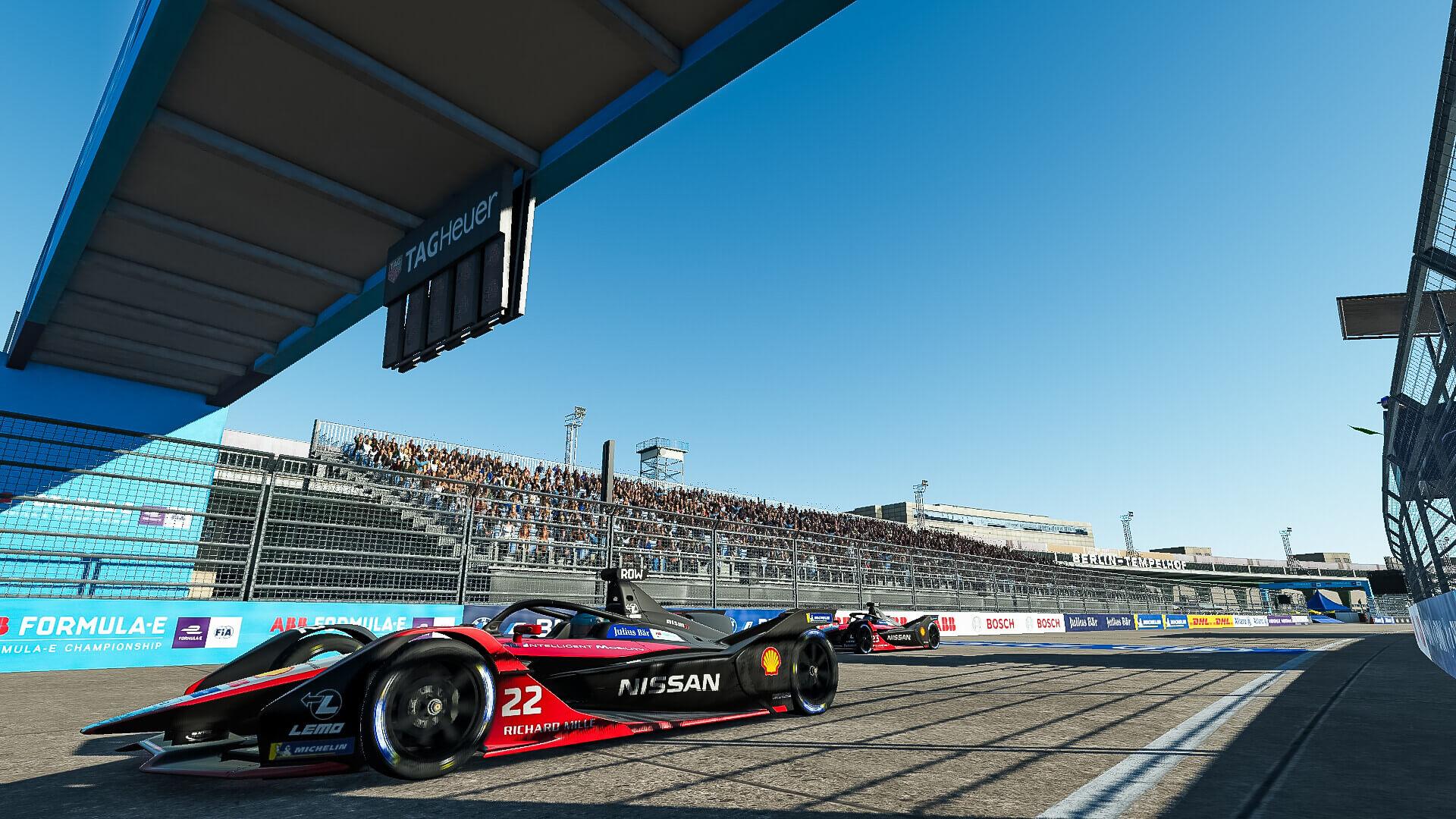 Команда Nissan e.dams победила в финальном раунде чемпионата ABB Formula E Race at Home Challenge