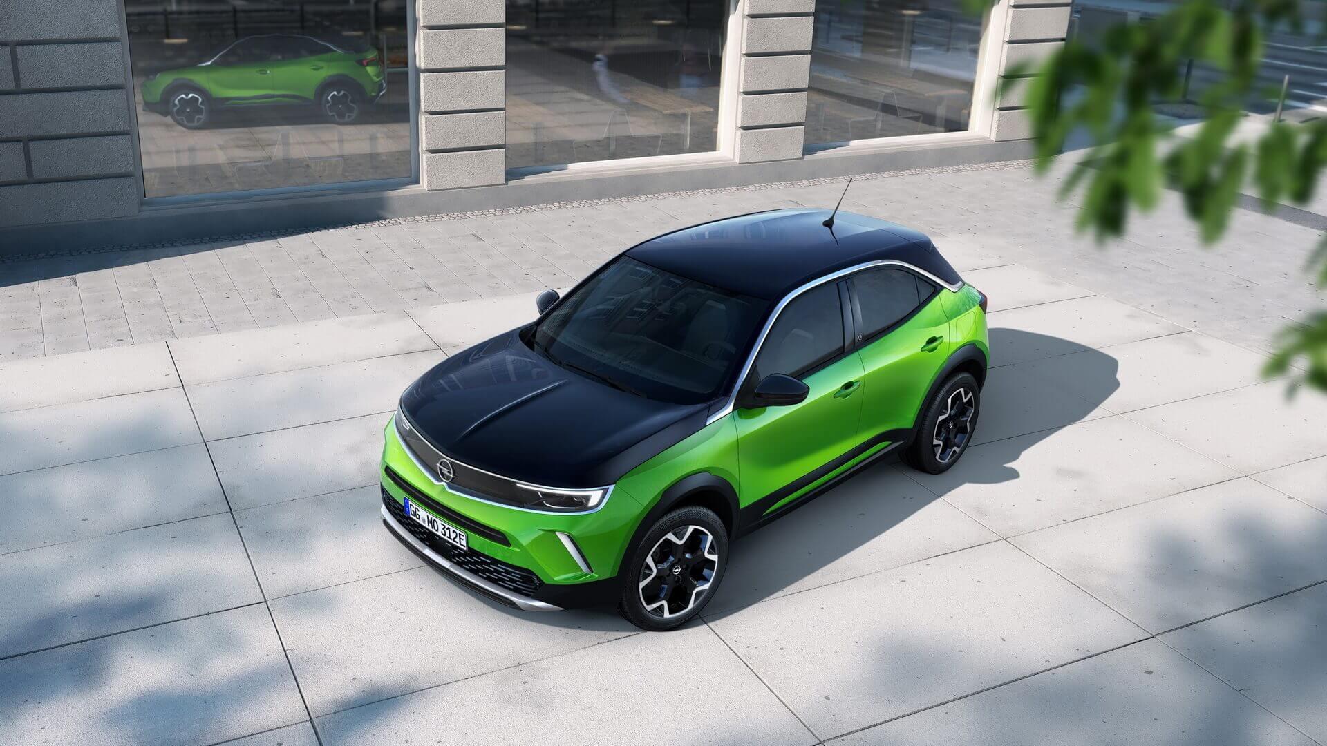 Электрокроссовер Opel Mokka-e