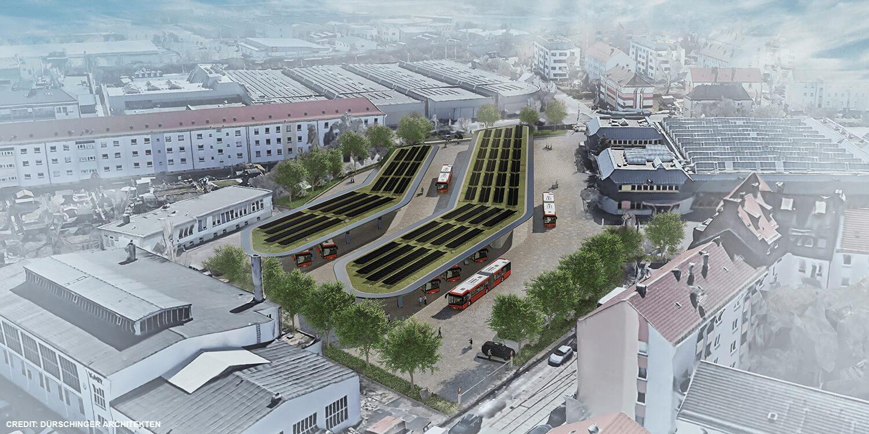 Siemens установит 20 быстрых зарядных устройств на 150 кВт для электрических автобусов в депо VAG