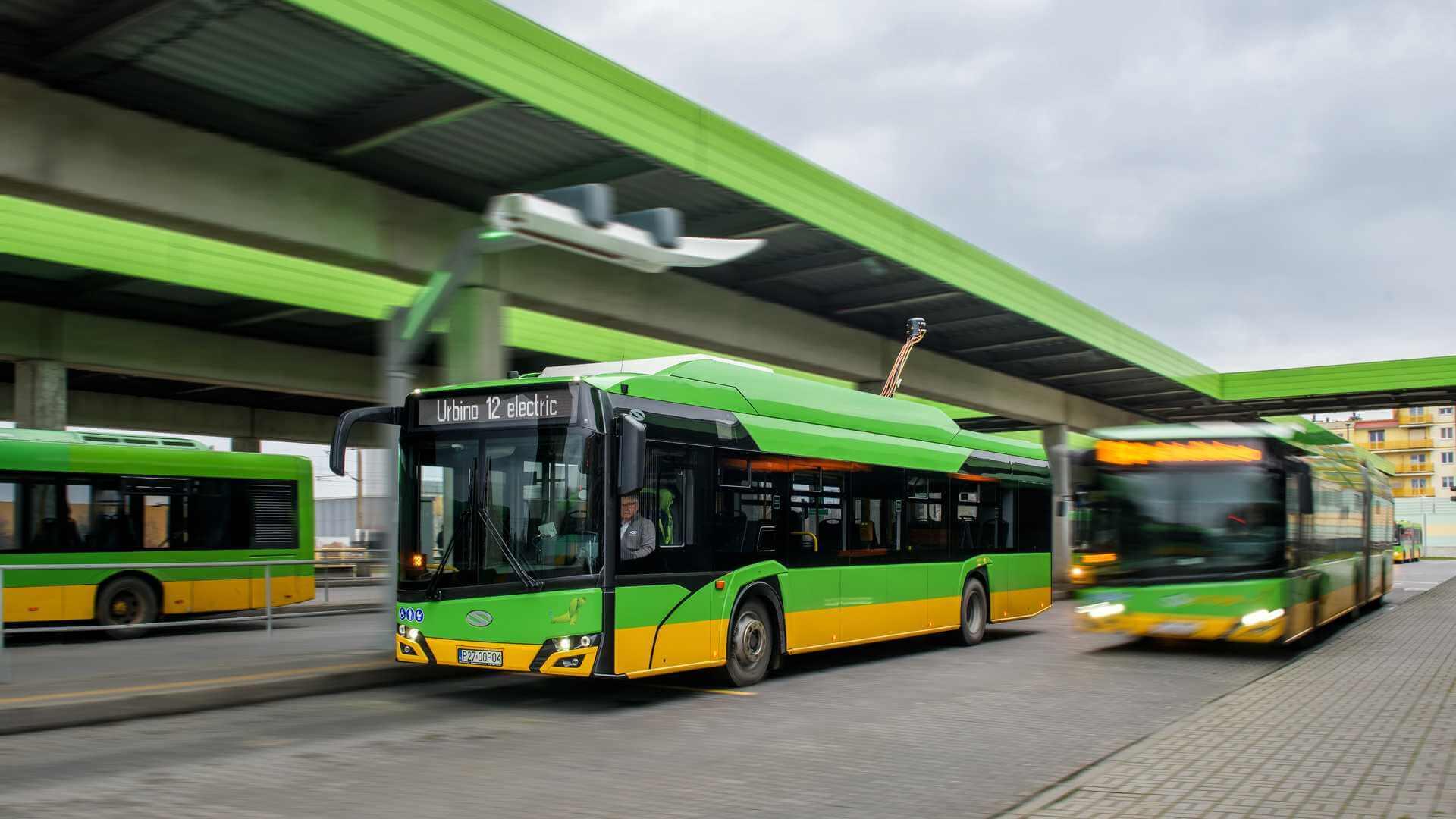 12-метровые модели электрических автобусов Solaris