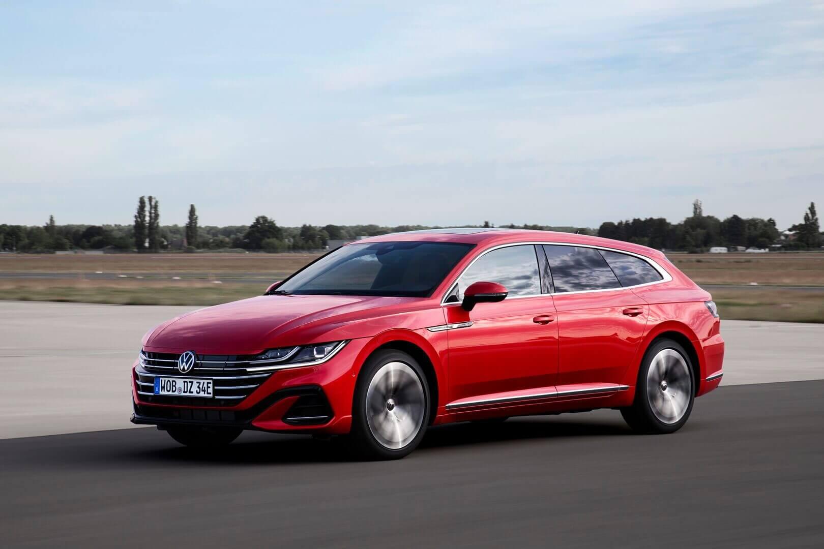Volkswagen Arteon теперь доступен в кузове универсал и сплагин-гибридной трансмиссией eHybrid