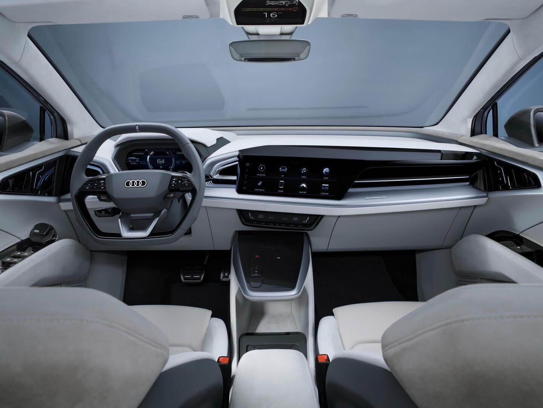Интерьер концепта Audi Q4 Sportback e-tron