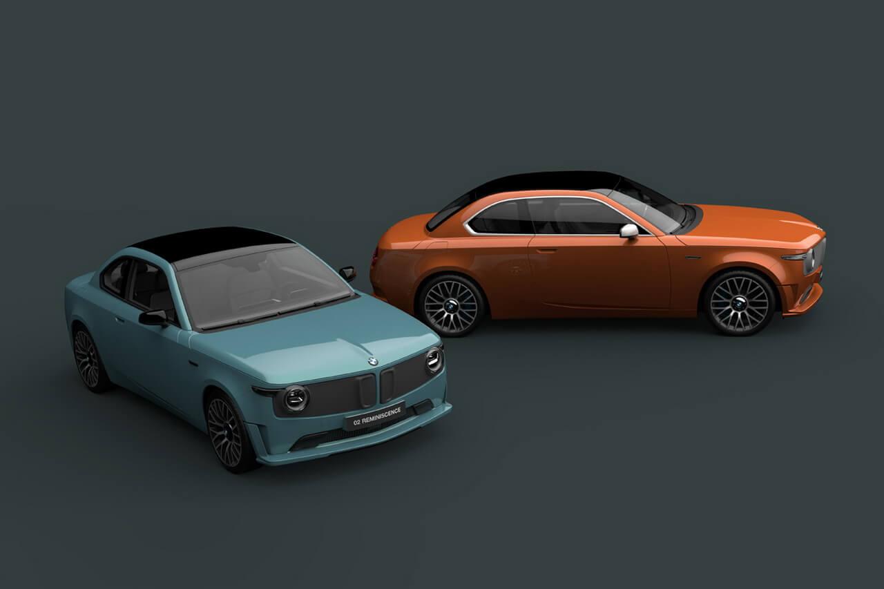 Современный взгляд на дизайн первого электрокара BMW