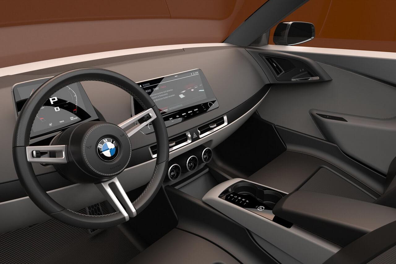 Современный интерьер BMW 02 Reminiscence Concept