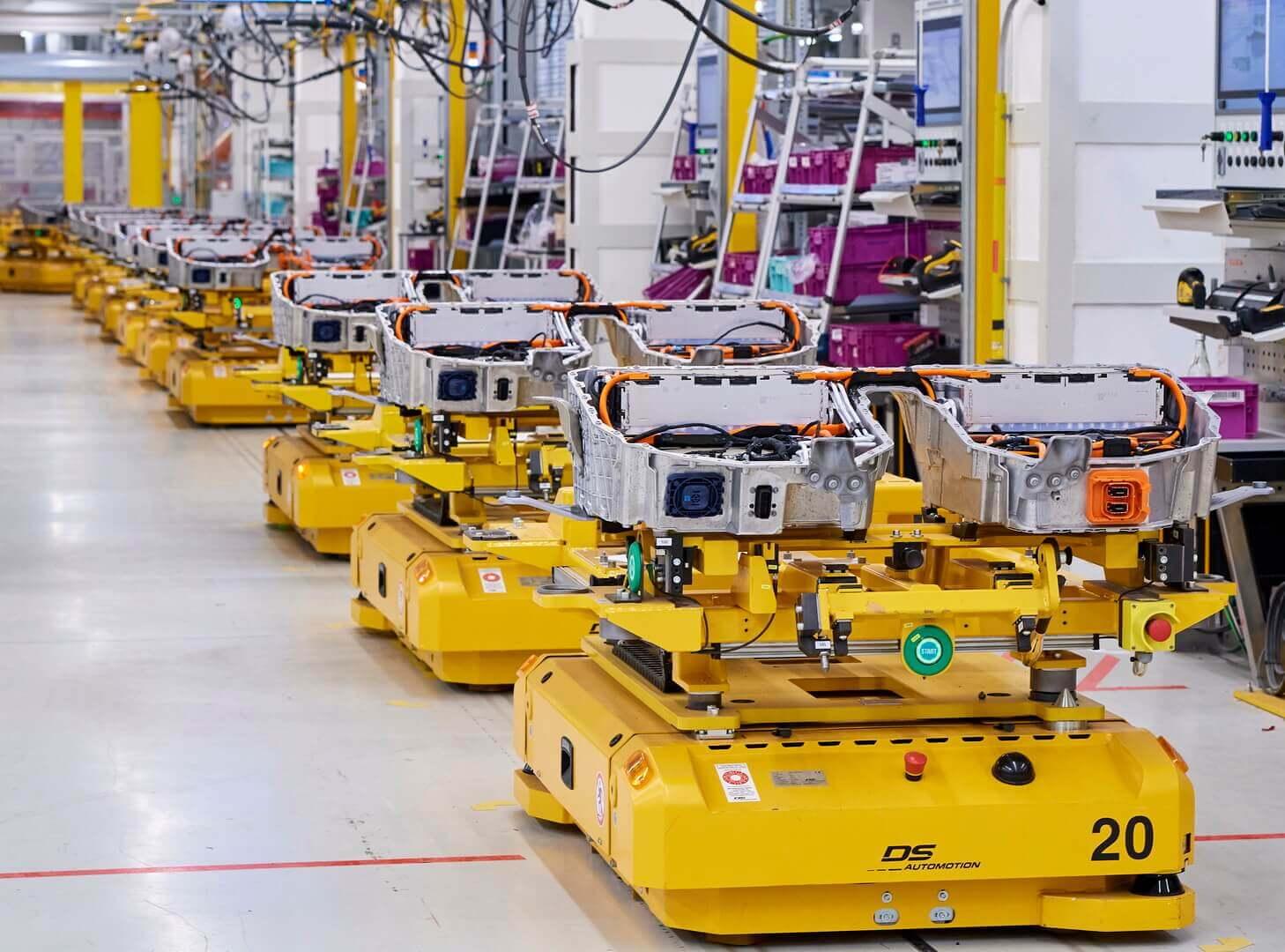 Аккумуляторные батареи для электрифицированных автомобилей BMW