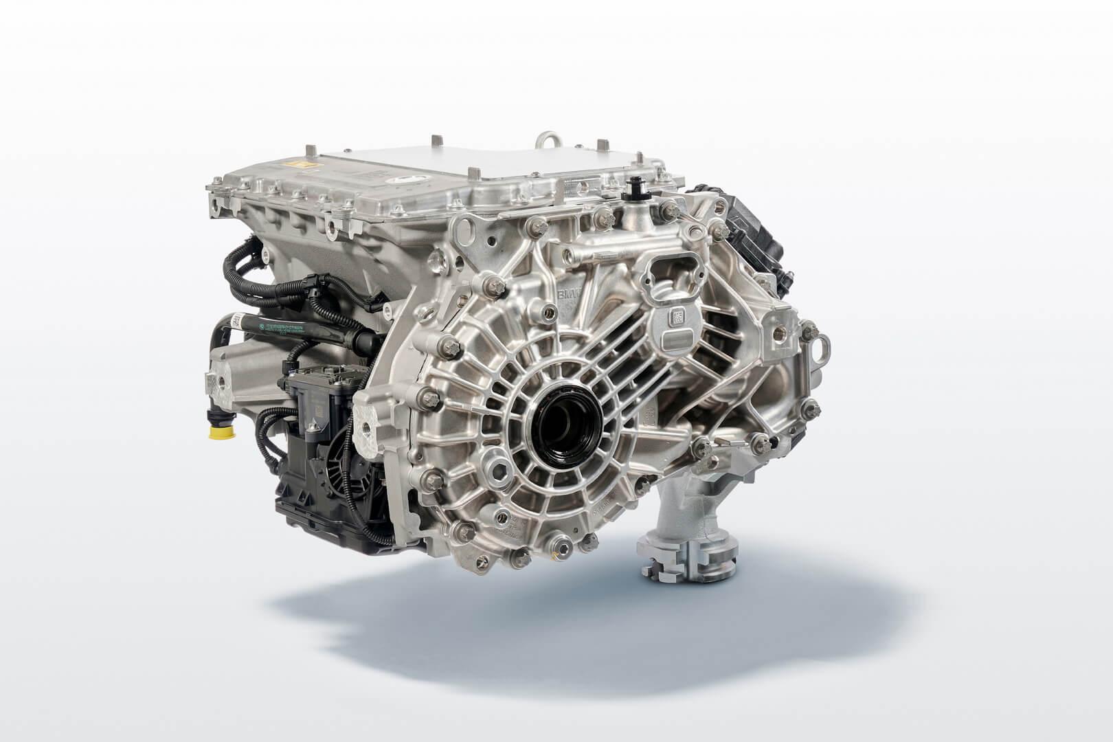 Электропривод BMW iX