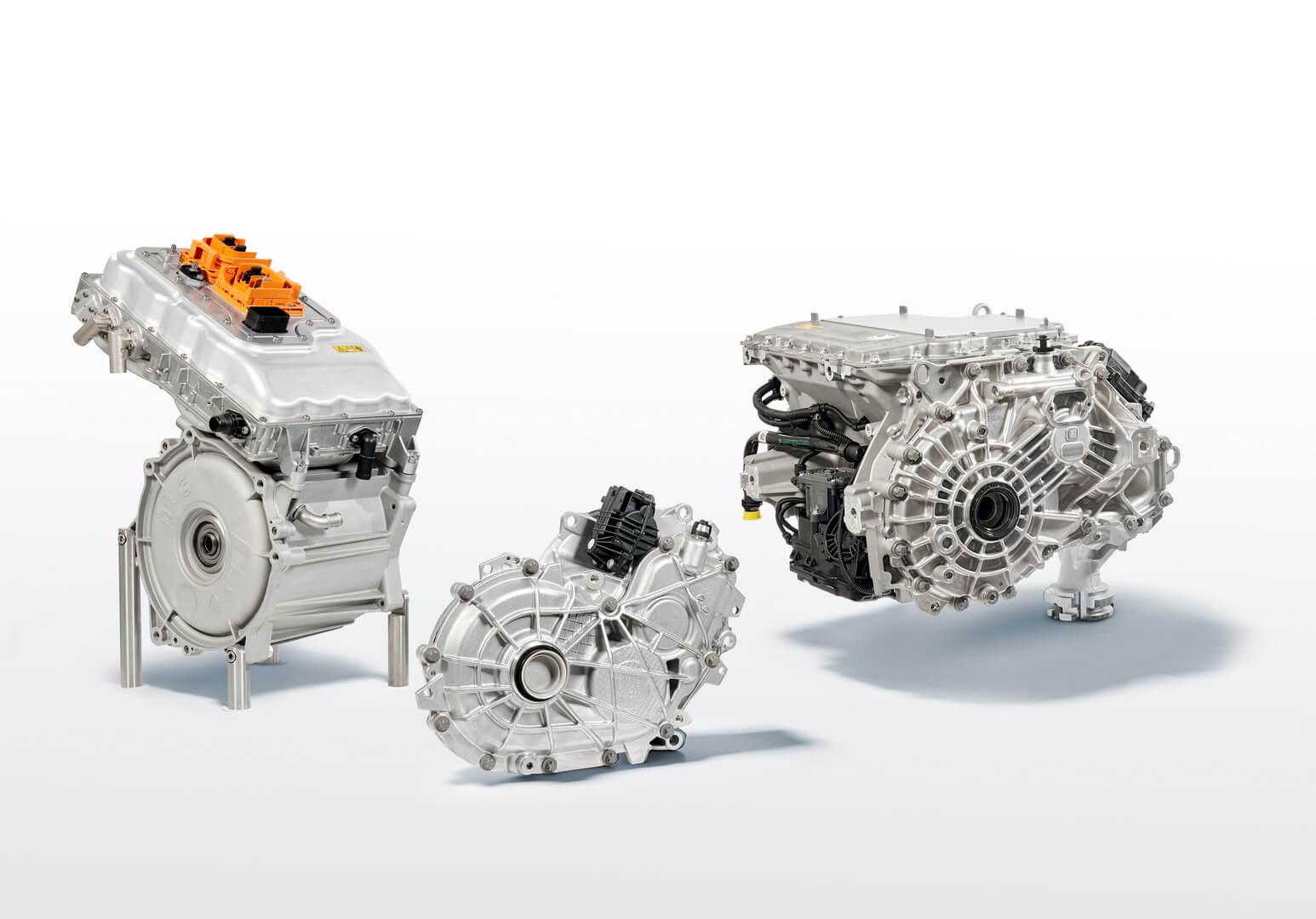 Электропривод BMW iX3