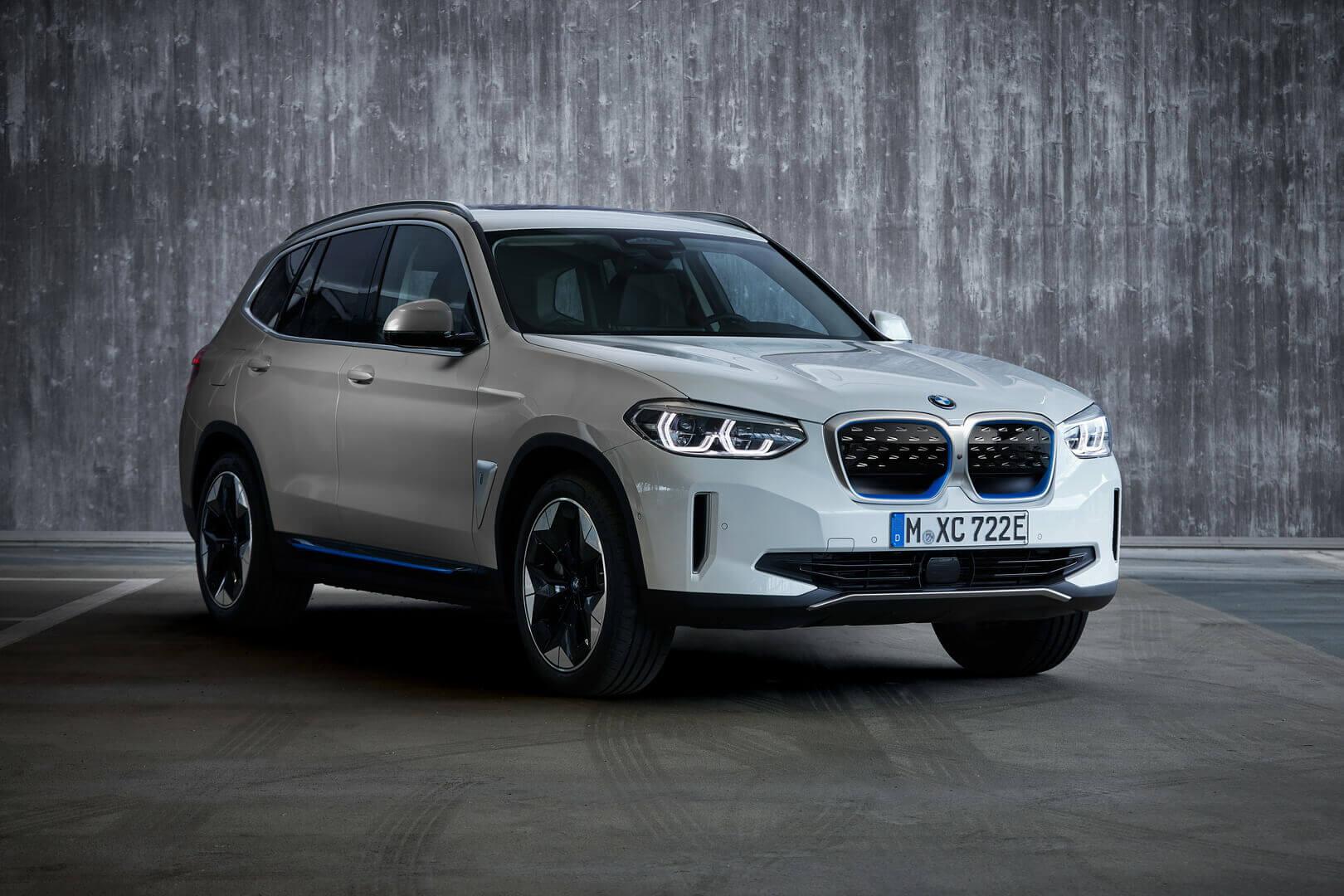 BMW iX3: первая модель с электроприводом eDrive 5-го поколения