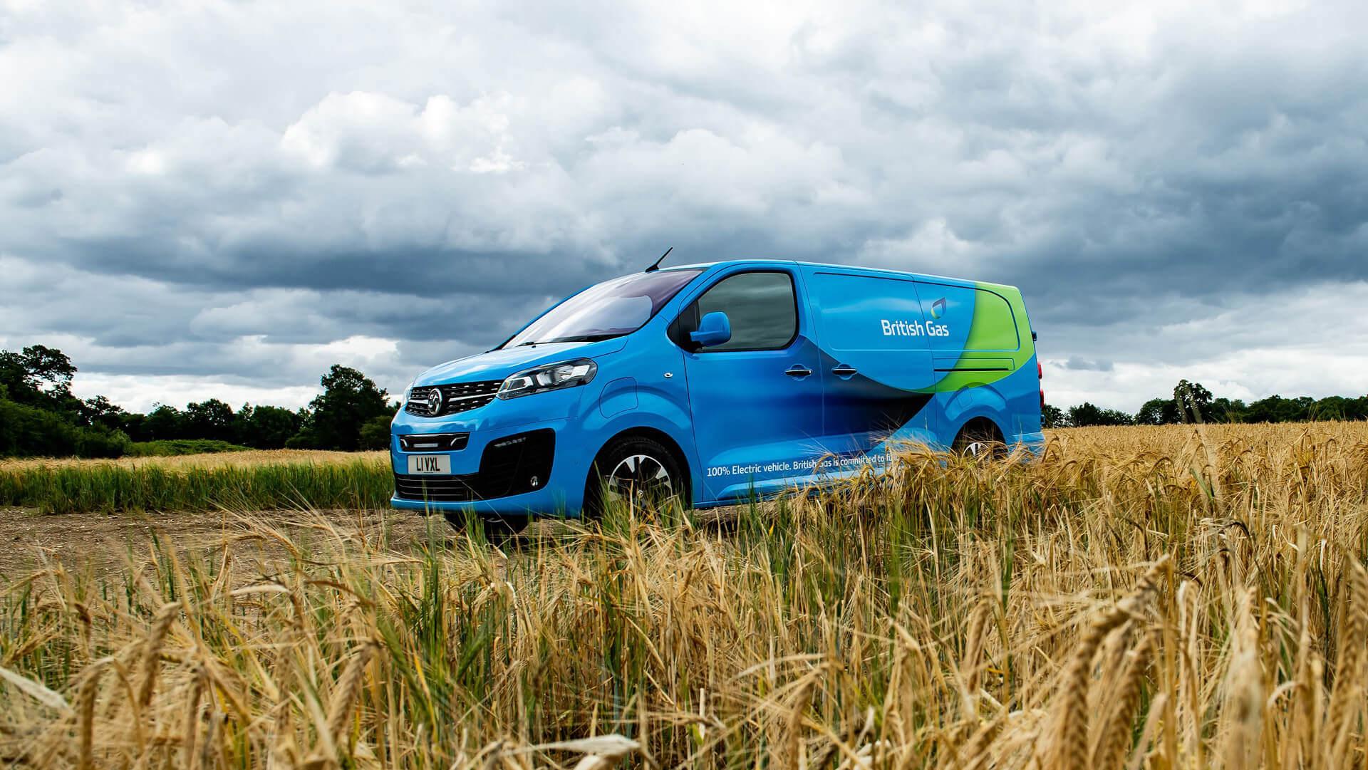 К2025 году British Gas планирует полностью использовать электрический автопарк