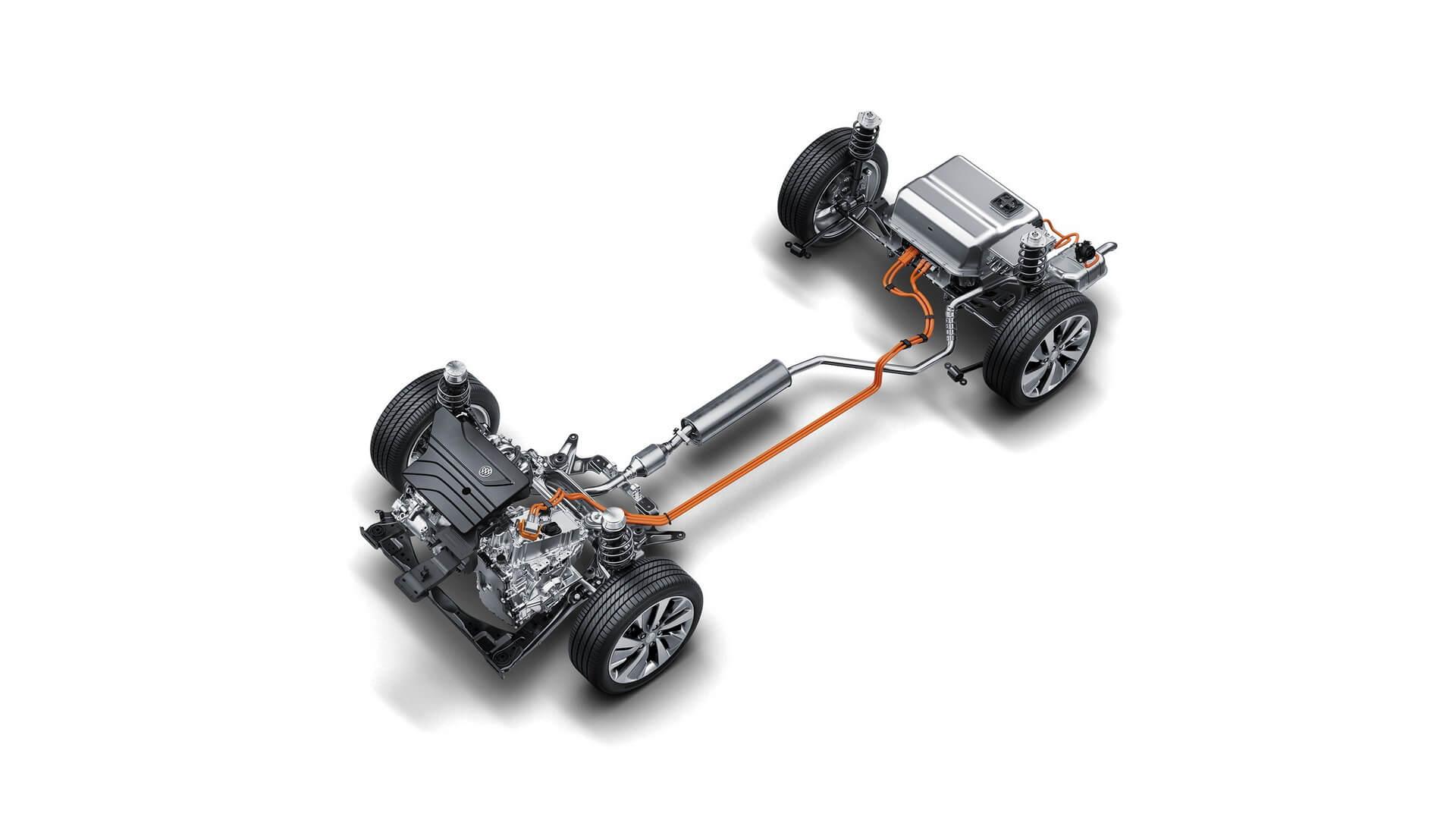 Система электропривода Buick eMotion