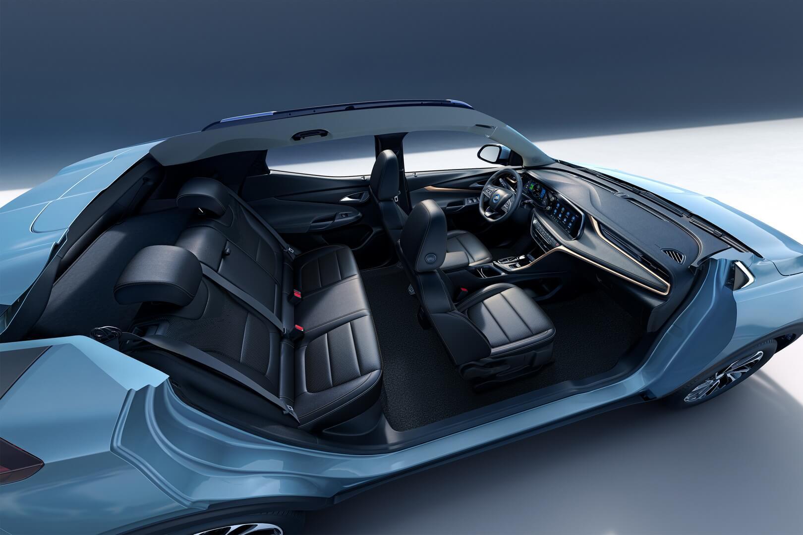Салон электрического кроссовера Buick VELITE 7