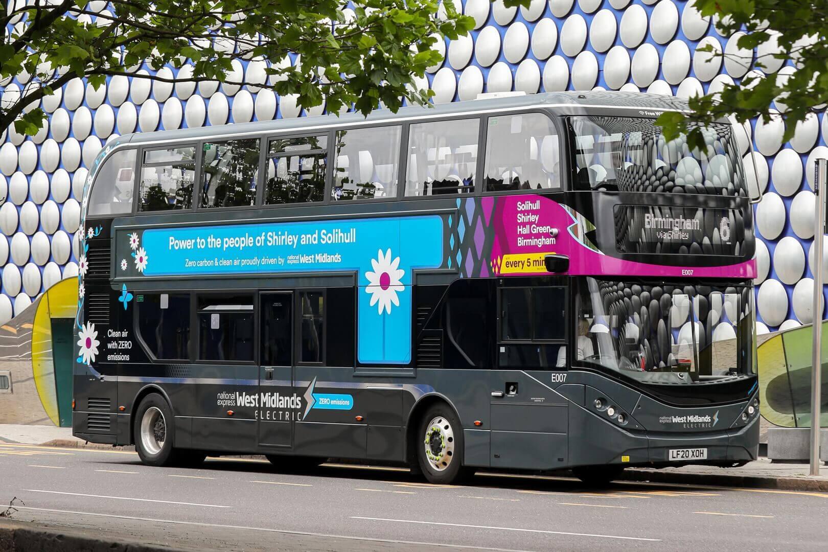 Электрический двухэтажный автобус BYD ADL Enviro400EV