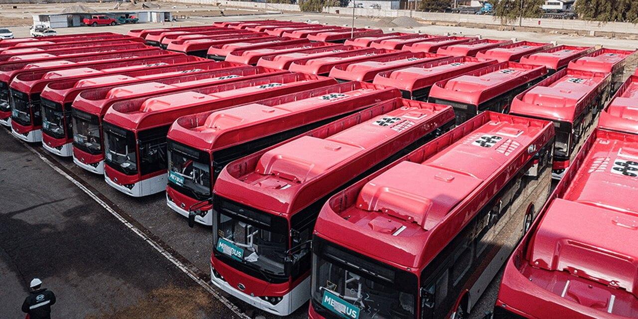 Столица Чили получила 150 новых электробусов BYD