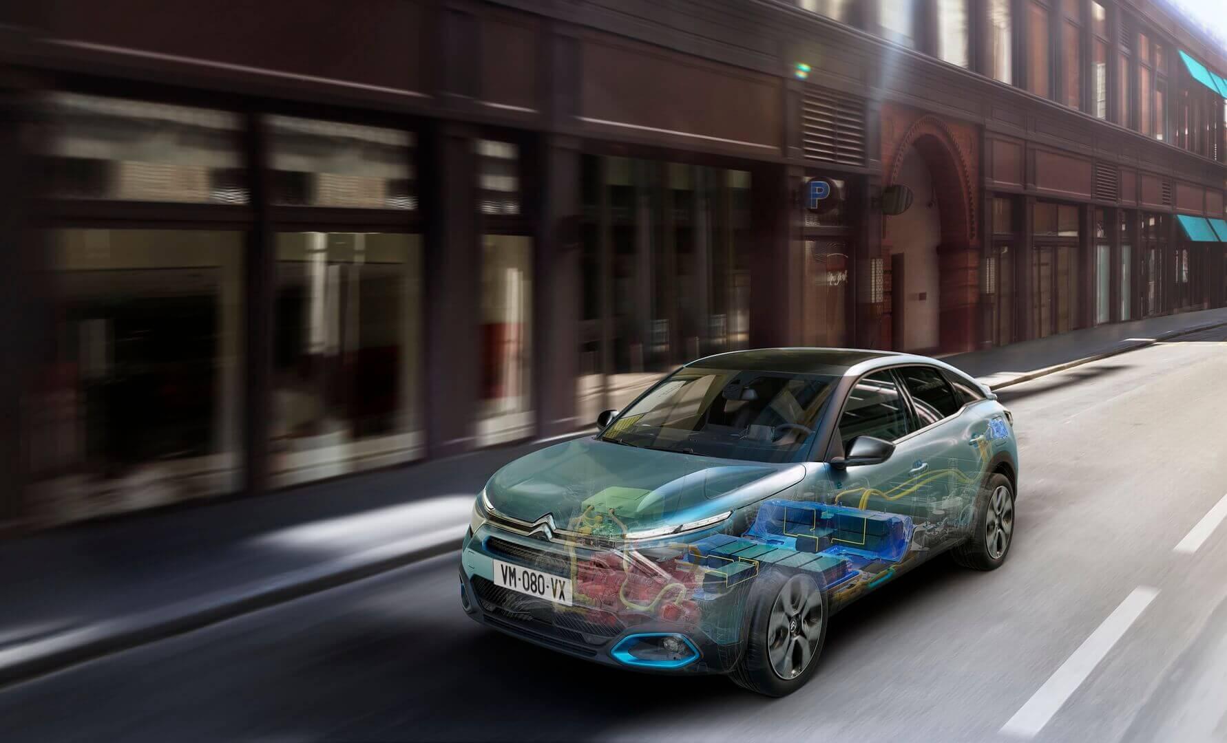 Электрокроссовер Citroën ë-C4 предлагает запас хода до 350 км по WLTP