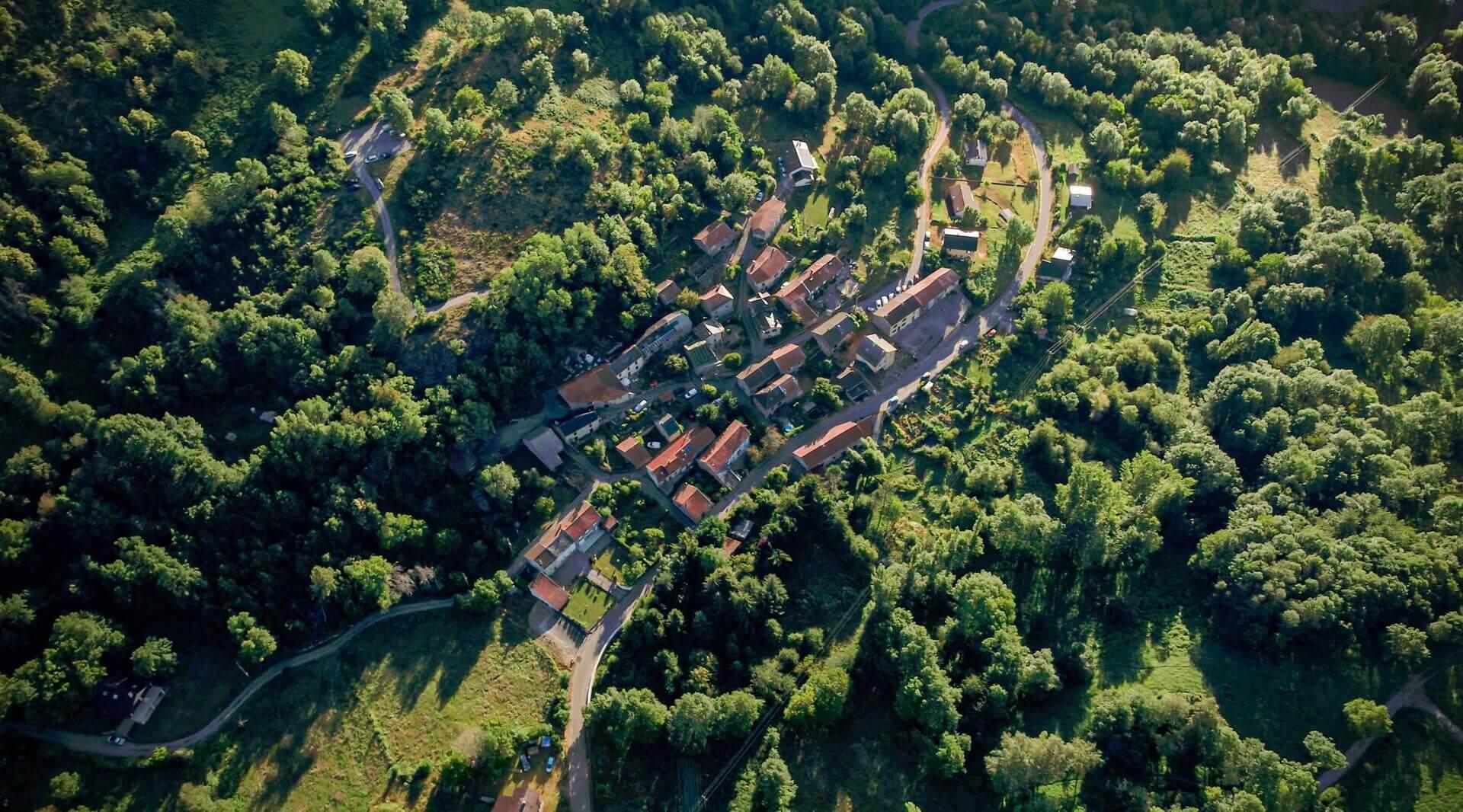 Вид на французский городок Аппи