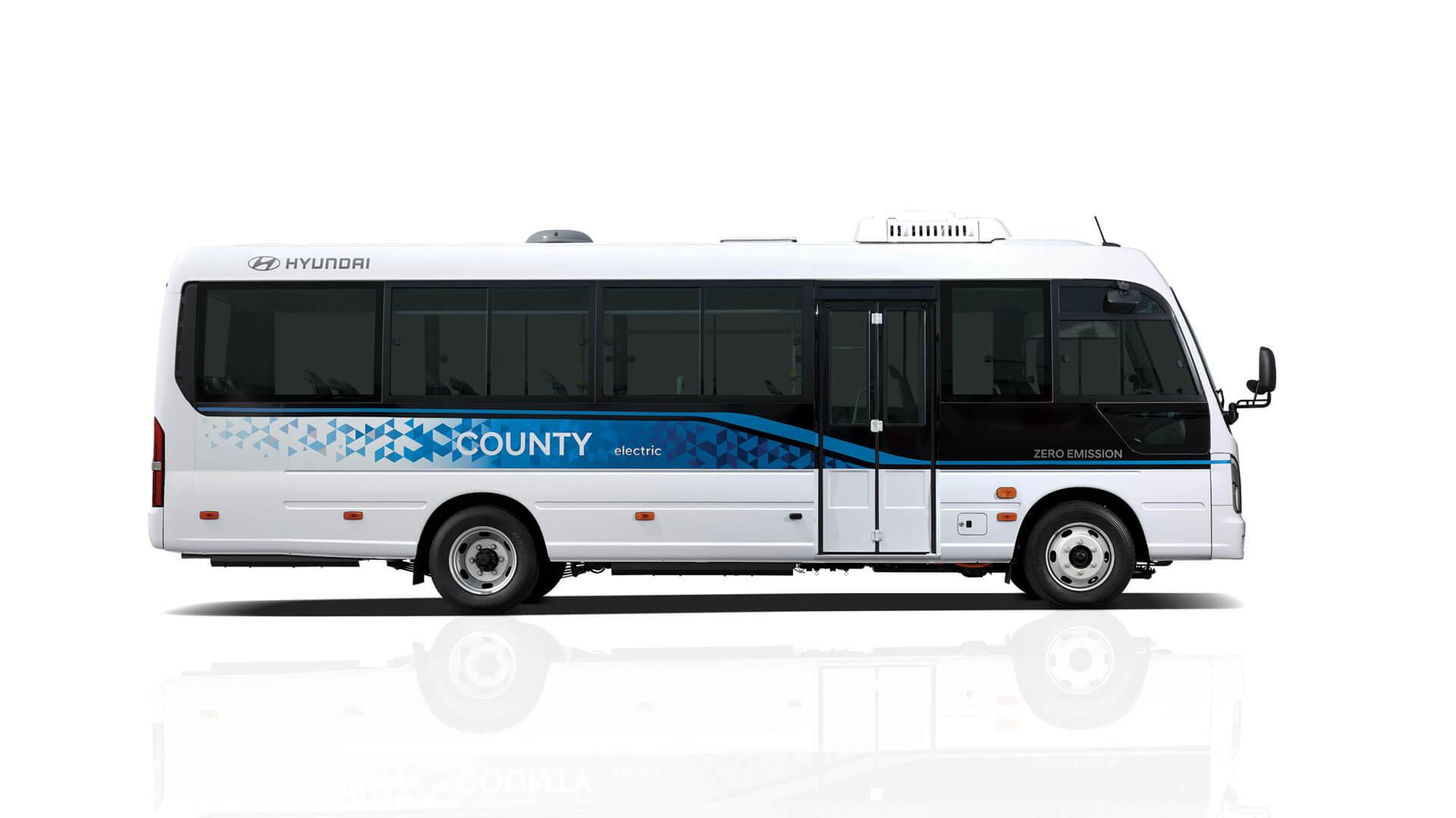 Hyundai выпускает электрический микроавтобус County Electric в Южной Корее