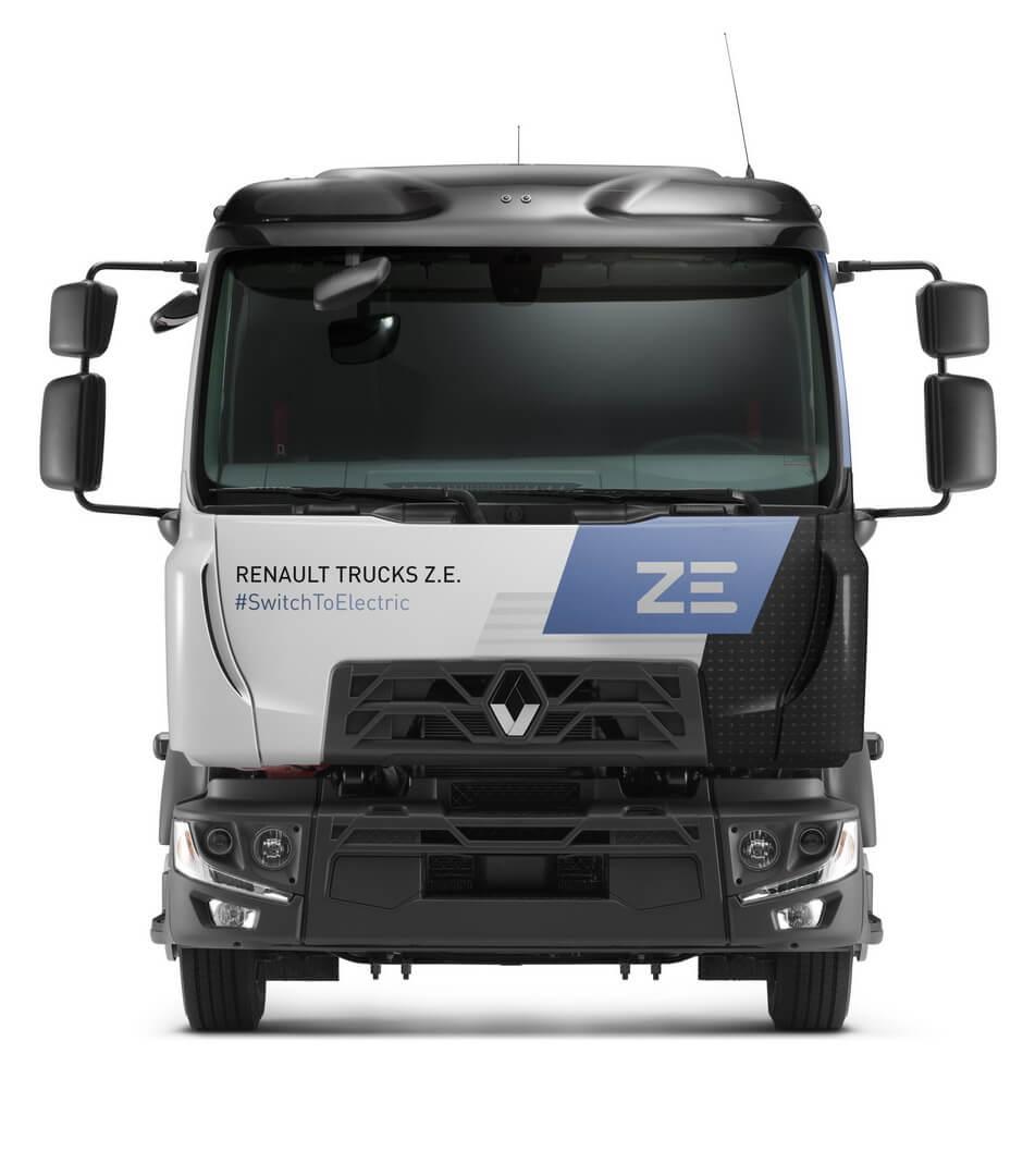 Renault Trucks поставляет свой первый серийный электрогрузовик D ZE