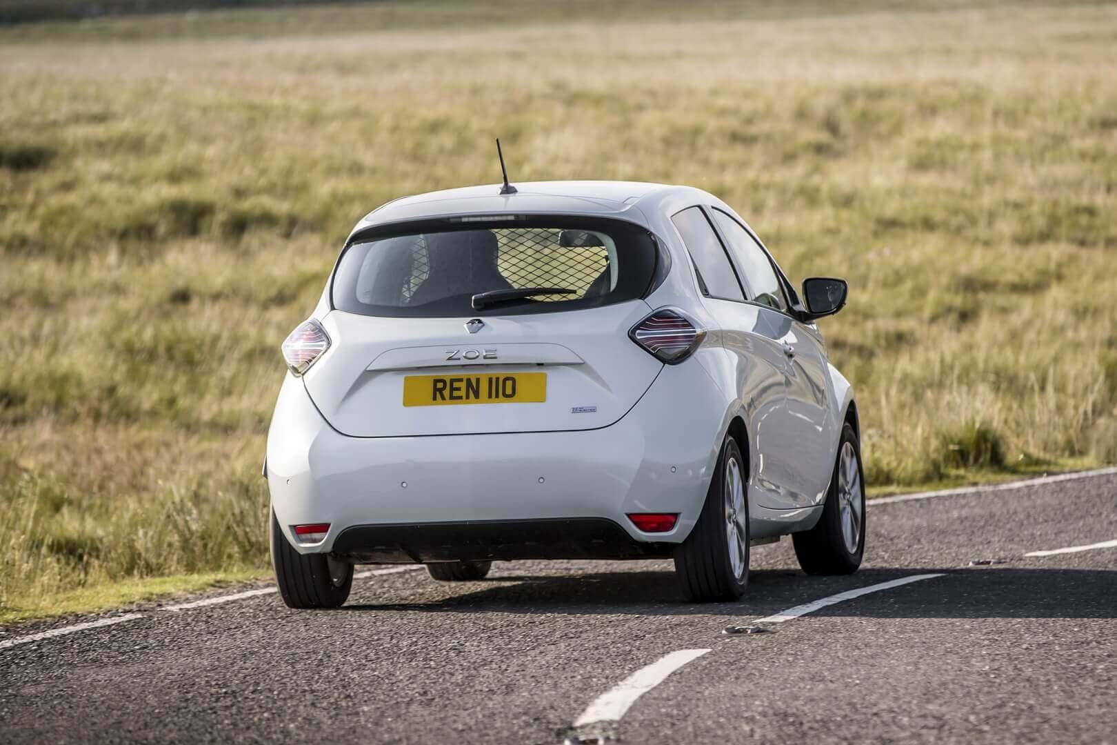 Renault представил практичный мини-фургон на базе ZOE