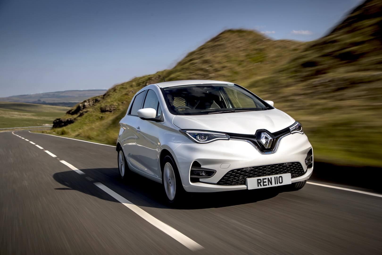 Renault ZOE получил модификацию практичного мини-фургона