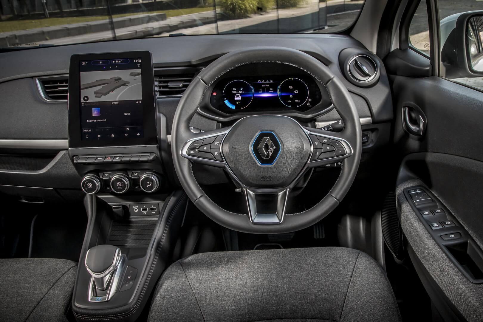 Интерьер Renault ZOE Van