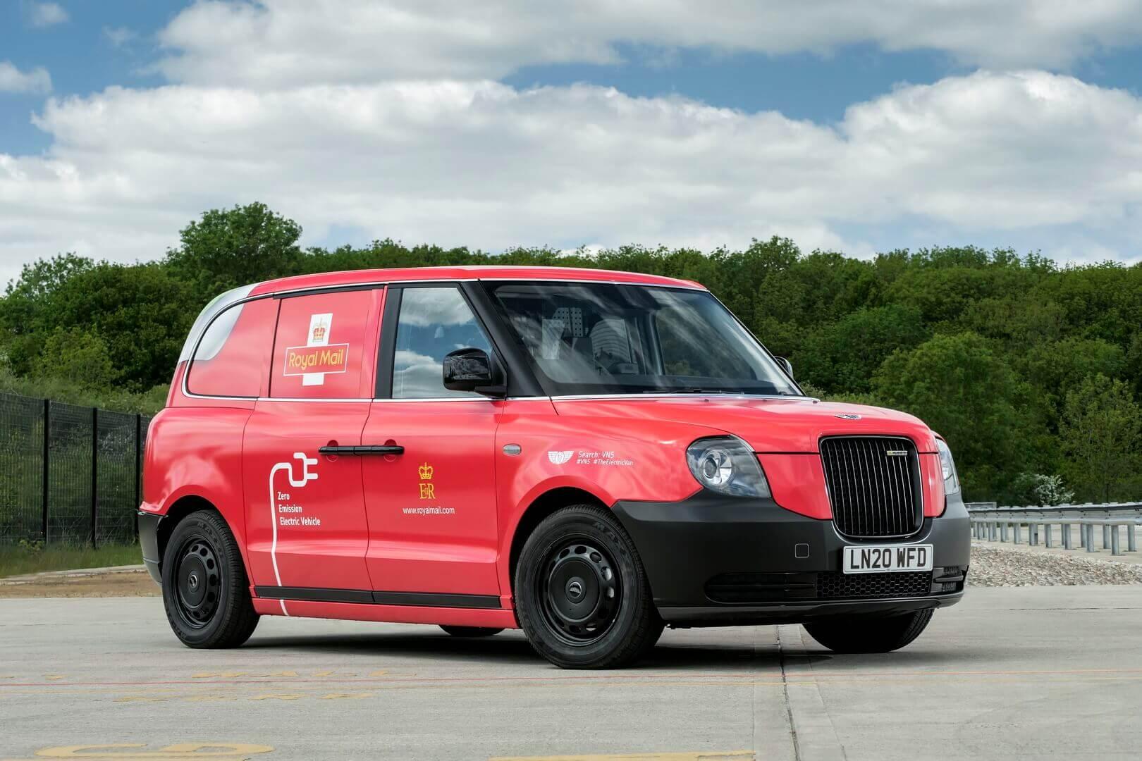 Royal Mail тестирует «электрическое» лондонское такси в качестве фургона