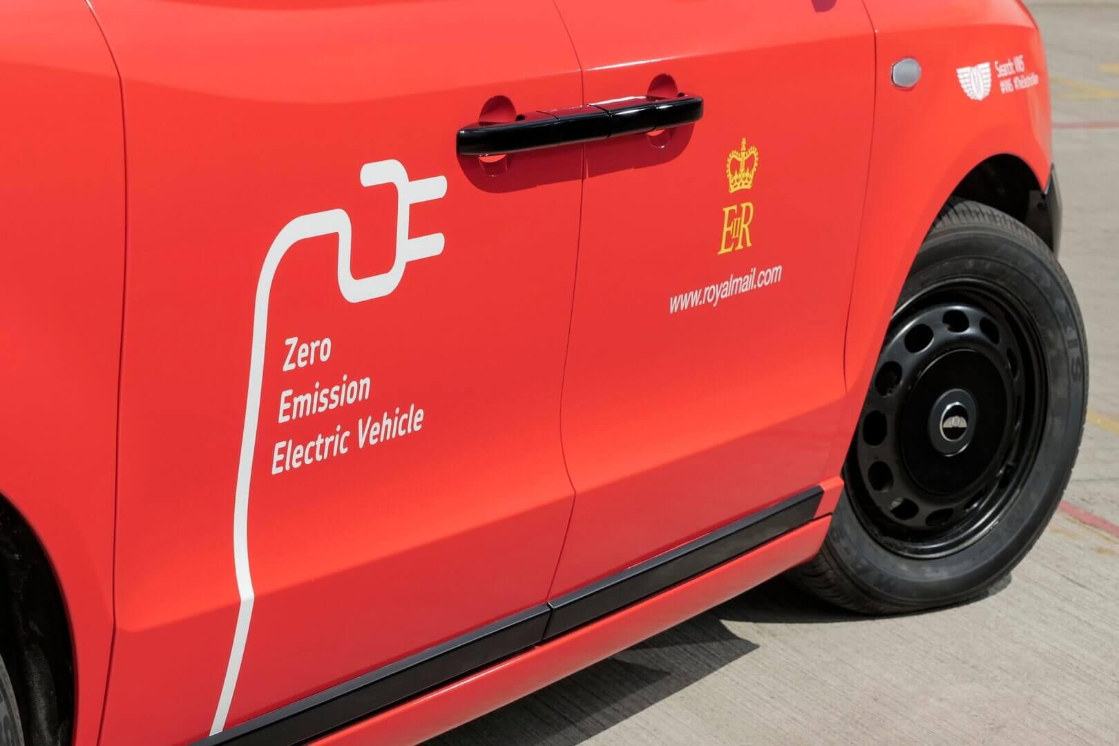 Royal Mail испытывает опытную версию нового электрического фургона LEVC