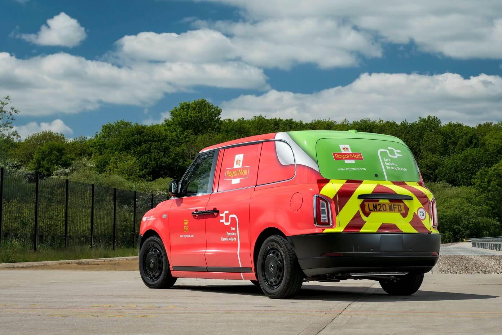 Royal Mail начинает испытания электрического фургона LEVC VN5