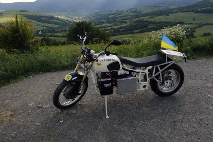 Электрический мотоцикл Dnepr Electric